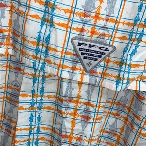Columbia PFG Fishing Button Up